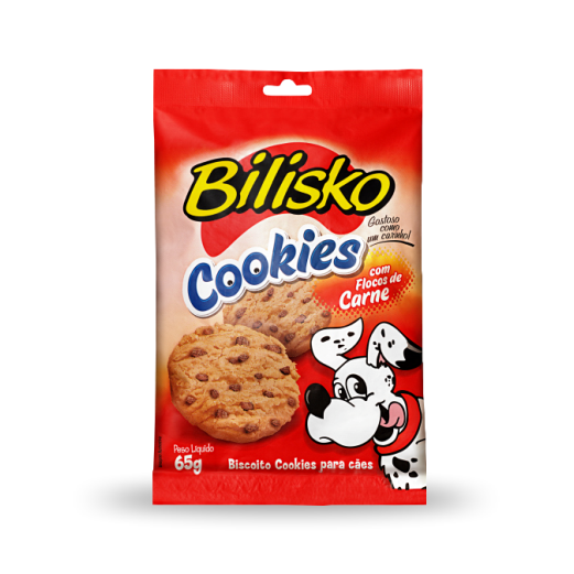 1143 Cookie com Flocos de Carne 65g